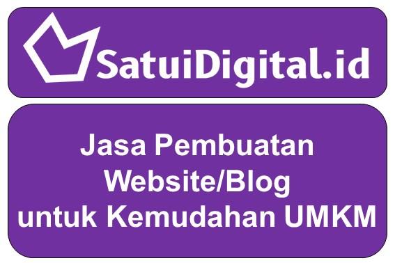 Jasa Pembuatan Website/Blog untuk Kemudahan UMKM
